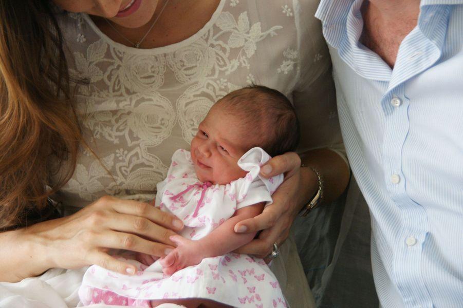 Amalia, la nouvelle petite princesse du Luxembourg