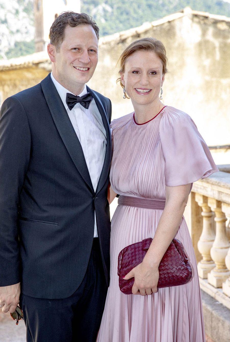 Georg Friedrich Ferdinand Prince de Prusse et la princesse Sophie au mariage de Joachim de Prusse et de la comtesse Angelina
