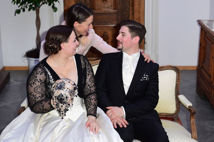 Au Mariage De La Comtesse Diana Bernadotte De Wisborg 10