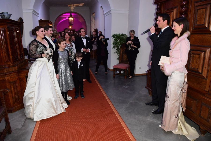Au Mariage De La Comtesse Diana Bernadotte De Wisborg 11