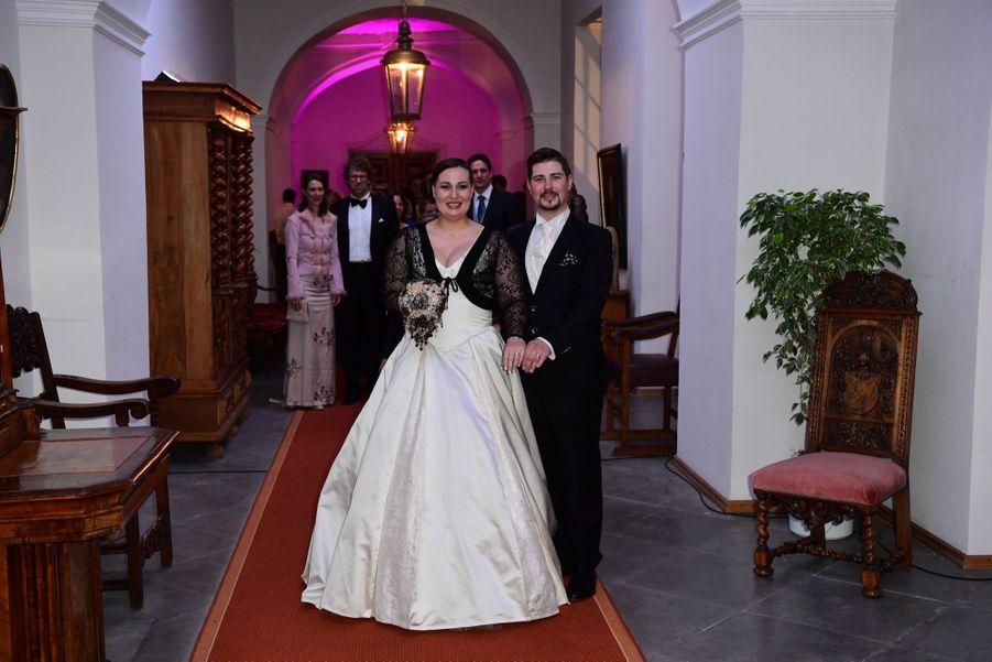 Au Mariage De La Comtesse Diana Bernadotte De Wisborg 13