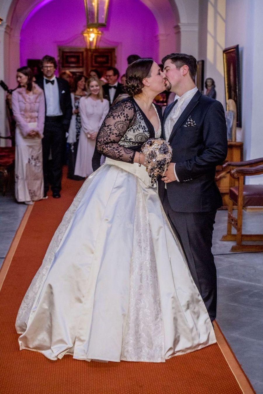 Au Mariage De La Comtesse Diana Bernadotte De Wisborg 15