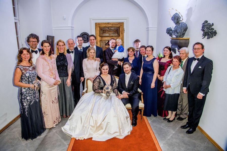 Au Mariage De La Comtesse Diana Bernadotte De Wisborg 17