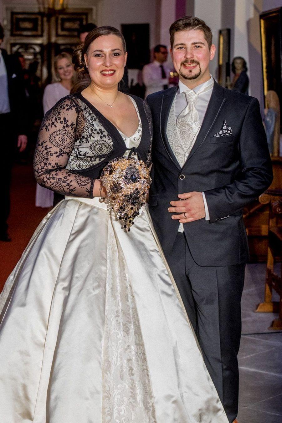 Au Mariage De La Comtesse Diana Bernadotte De Wisborg 18