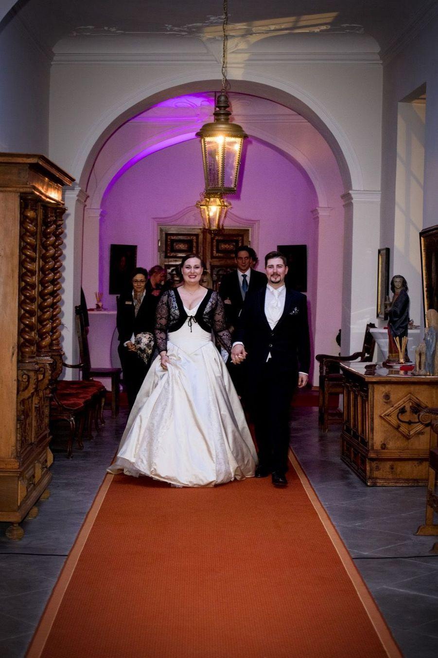 Au Mariage De La Comtesse Diana Bernadotte De Wisborg 9
