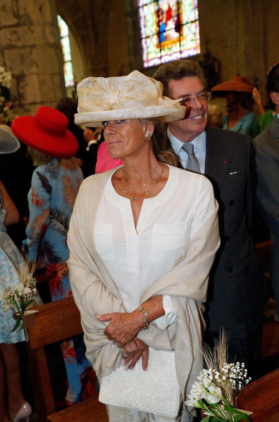 La princesse Lea de Belgique à Janville, le 14 septembre 2018