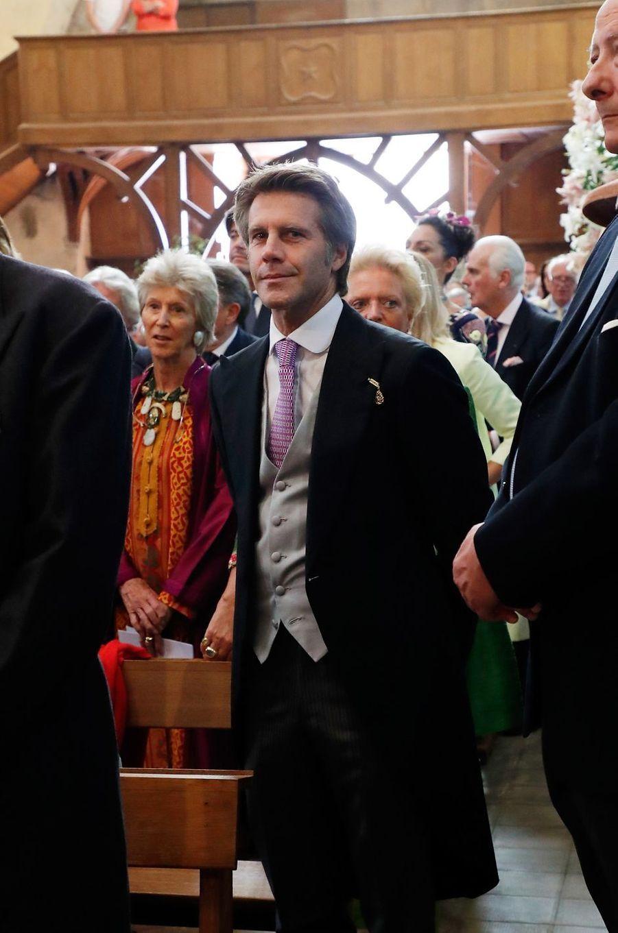Le prince Emmanuel-Philibert de Savoie à Tillay-le-Péneux, le 14 septembre 2018