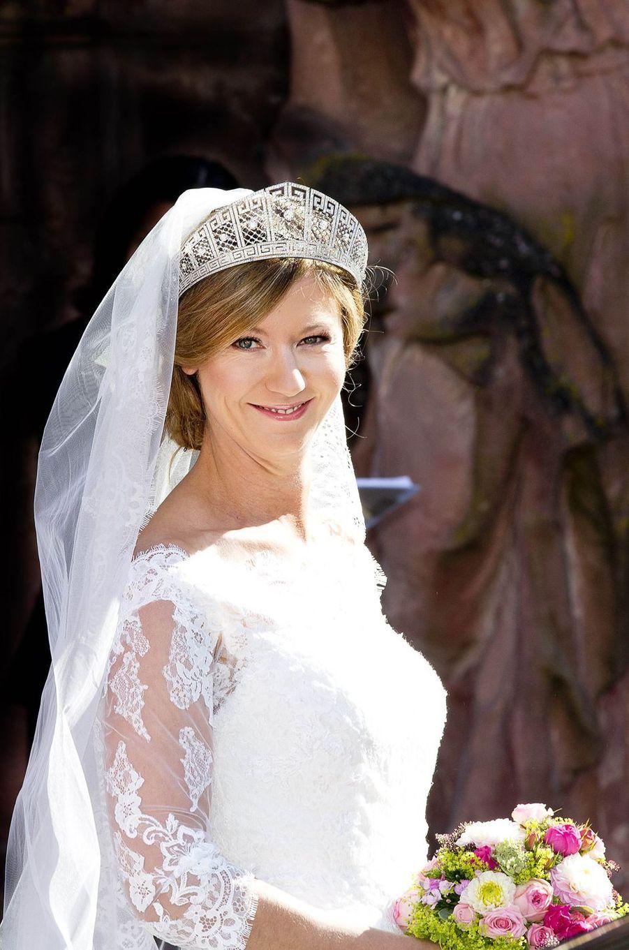 La princesse Viktoria Luise de Prusse à Amorbach, le 16 septembre 2017