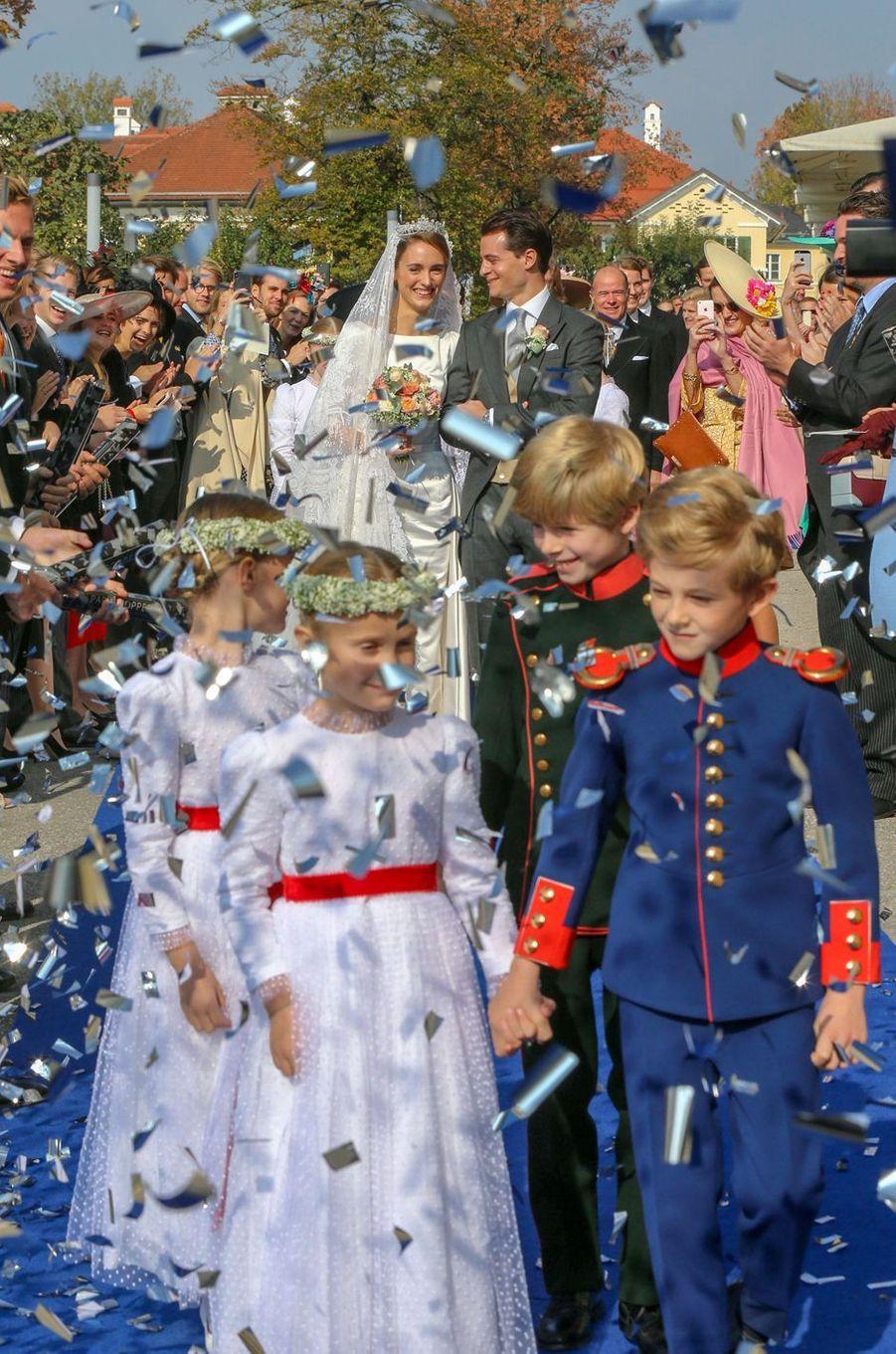 La duchesse Sophie de Wurtemberg et le comte Maximilien d'Andigné à Tegernsee, le 20 octobre 2018