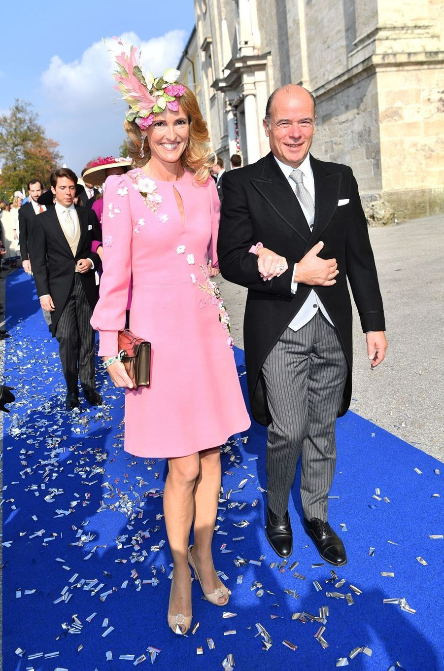 La mère de la duchesse Sophie de Wurtemberg et le père du comte Maximilien d'Andigné à Tegernsee, le 20 octobre 2018