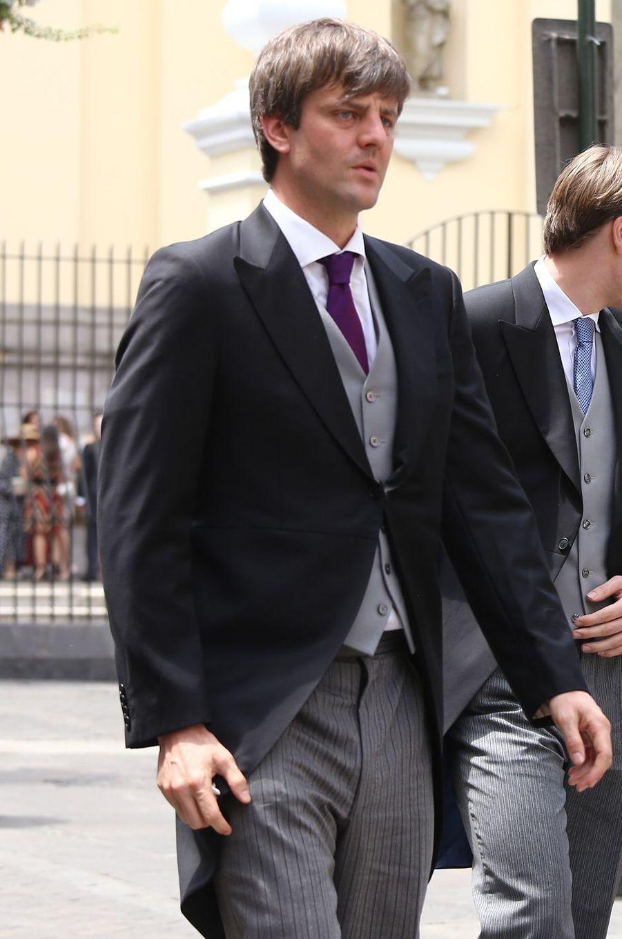 Le prince Ernst-August junior de Hanovre à Lima, le 16 mars 2018