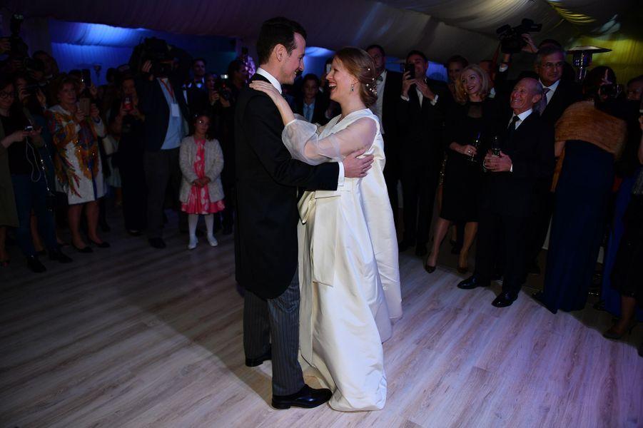 Mariage du prince Filip de Serbie et de Danica Marinkovic à Belgrade, le 7 octobre 2017