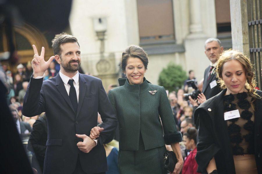 Le prince Petar de Serbie, grand frère du prince Filip, à Belgrade le 7 octobre 2017