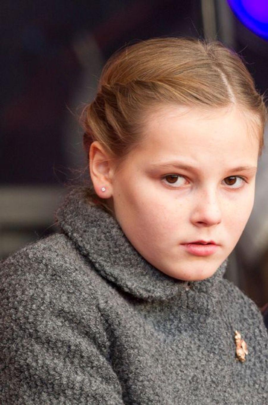La princesse Ingrid Alexandra à Oslo le 10 décembre 2014