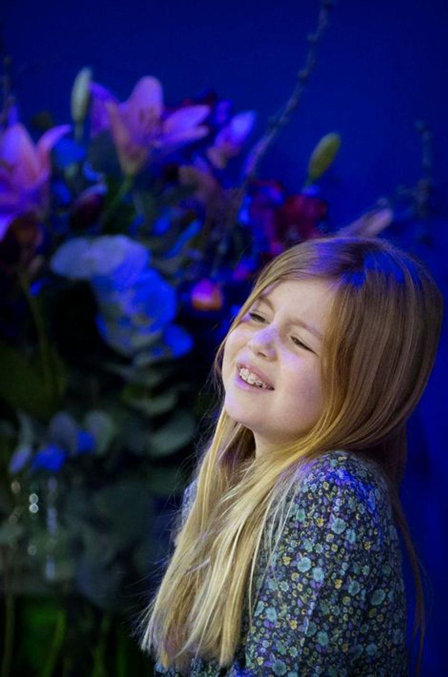 La princesse Alexia au Jumping Amsterdam, le 1er février 2015