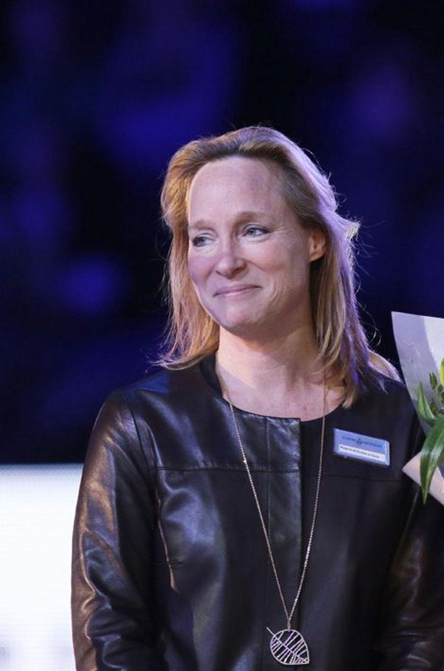 La princesse Margarita de Bourbon Parme au Jumping Amsterdam, le 1er février 2015
