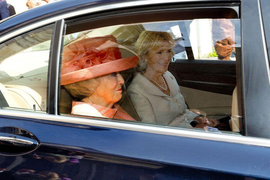 Irène et l'ancienne reine des Pays-Bas, Beatrix
