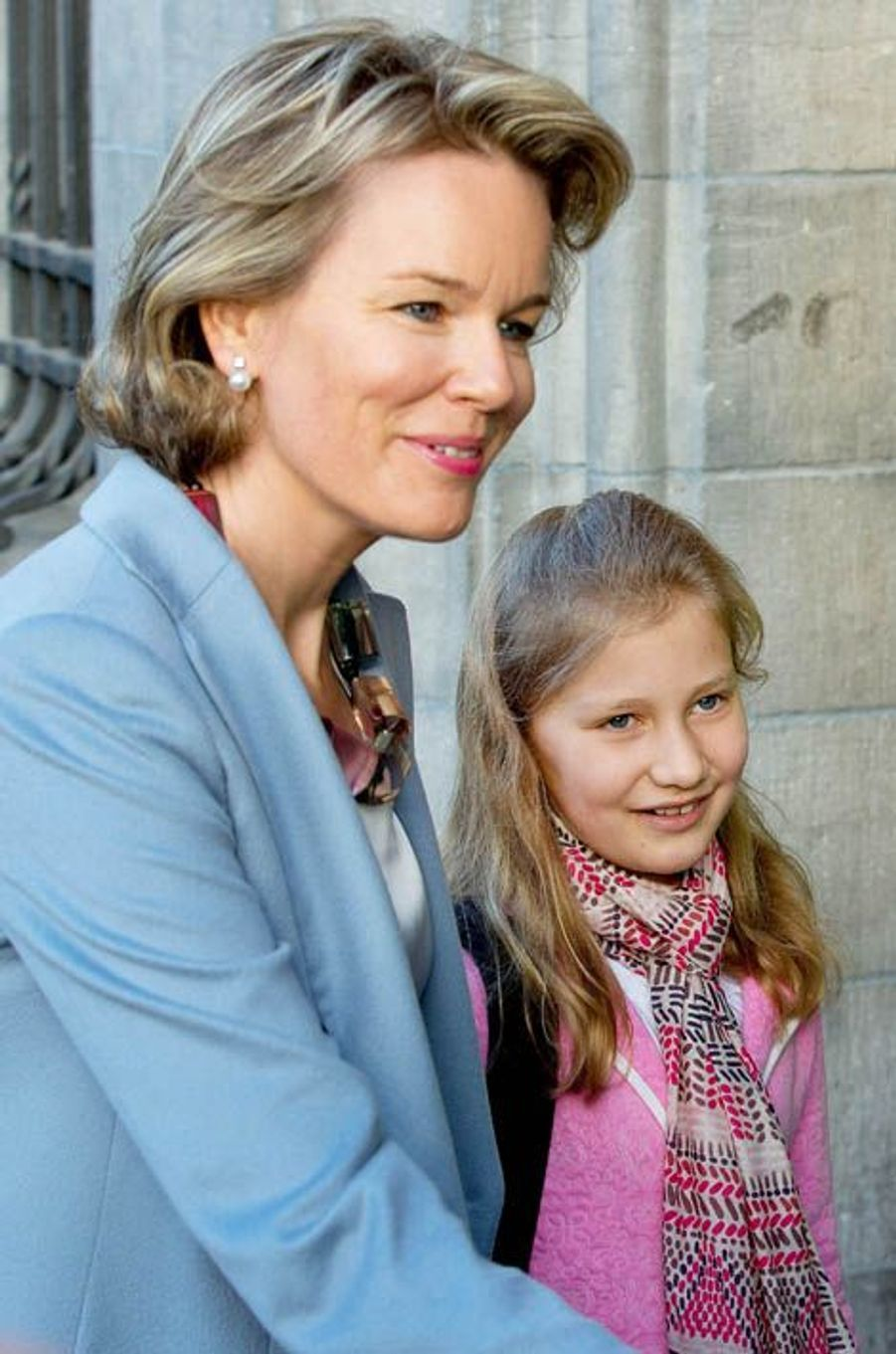 Mathilde et Elisabeth de Belgique
