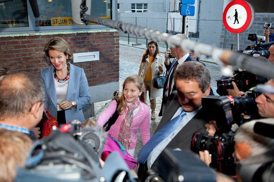 Belgique: la rentrée du prince et des princesses