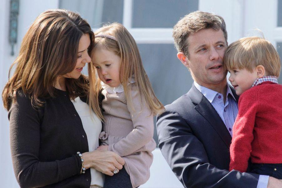 La Princesse Josephine, le Princesse Mary, le Prince Frederik