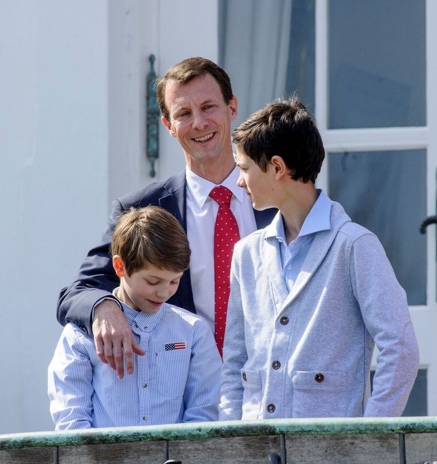 Le Prince Joachim, le Prince Felix, le Prince Nikolai