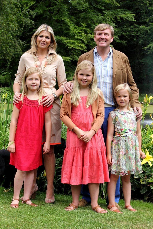 La princesse Catharina-Amalia en famille en juillet 2013