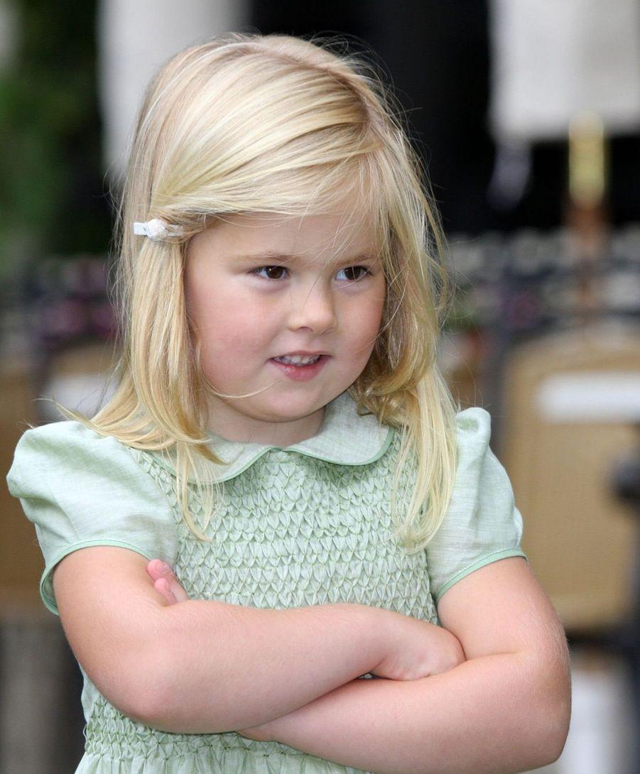 La princesse Catharina-Amalia en juillet 2008