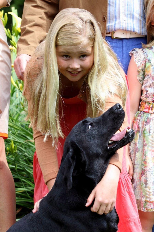 La princesse Catharina-Amalia en juillet 2013