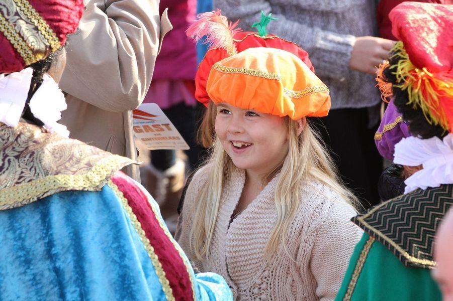 La princesse Catharina-Amalia en novembre 2011