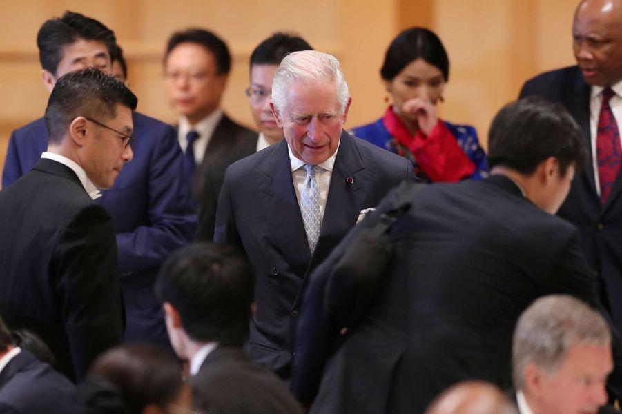 Le prince Charles, à Tokyo le 23 octobre 2019