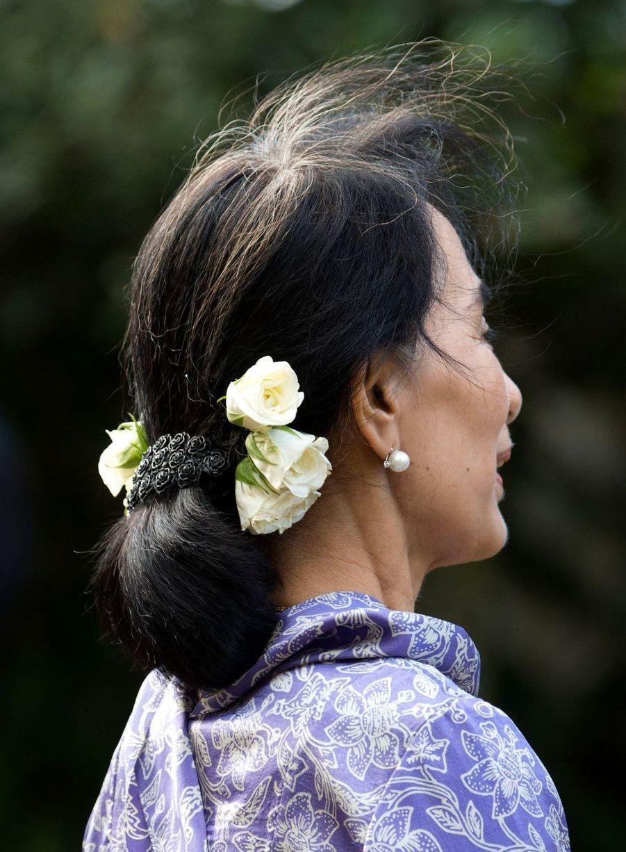 Charles accueille Aung San Suu Kyi