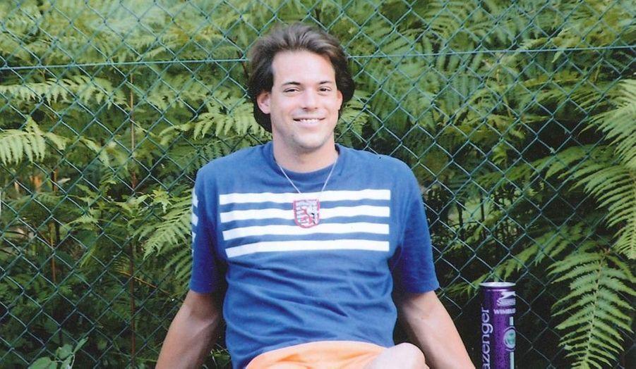 Le prince Félix au tennis