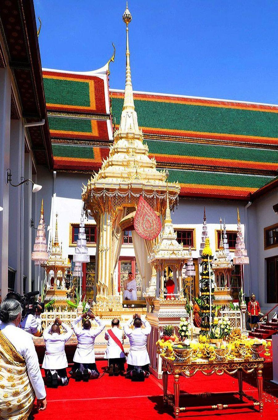 Le roi de Thaïlande Maha Vajiralongkorn (Rama X) à Bangkok, le 4 mai 2019, le jour de son couronnement