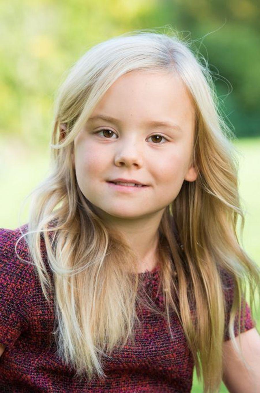 La princesse Ariane des Pays-Bas à Wassenaar, à l'automne 2014