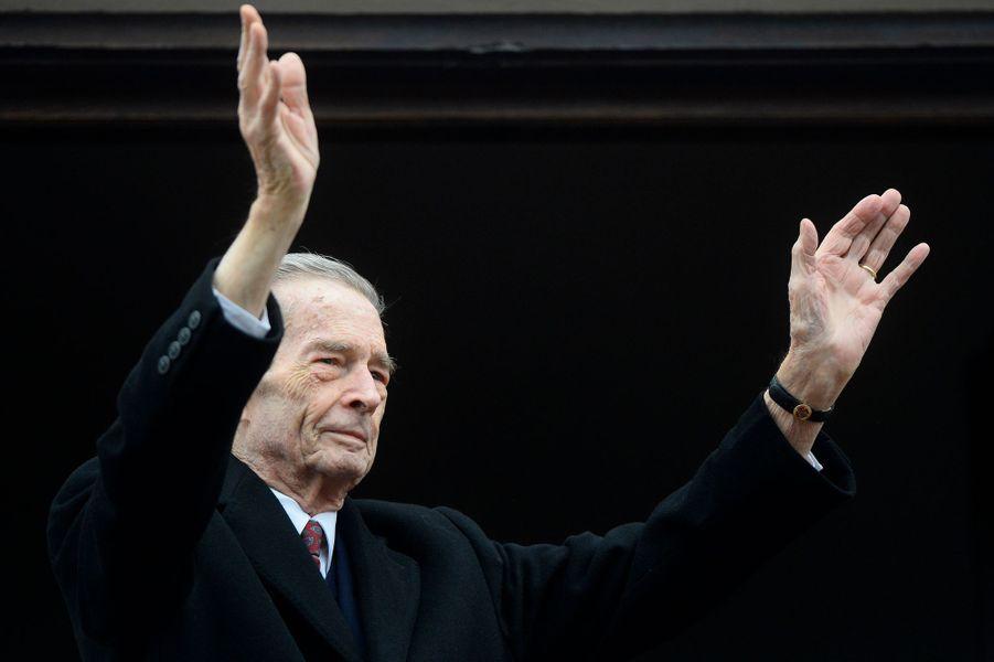 L'ex-roi Michel de Roumanie, le 19 novembre 2014 à Bucarest