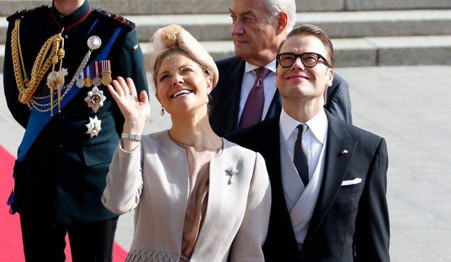 La Princesse Victoria de Suède et le Prince Daniel