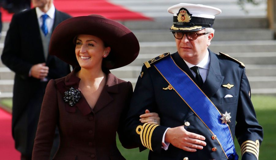 Le Prince Laurent et la Princess Claire