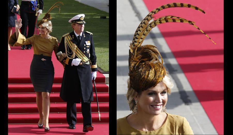 Le Prince Willem-Alexander des Pays-Bas et la Princesse Maxima