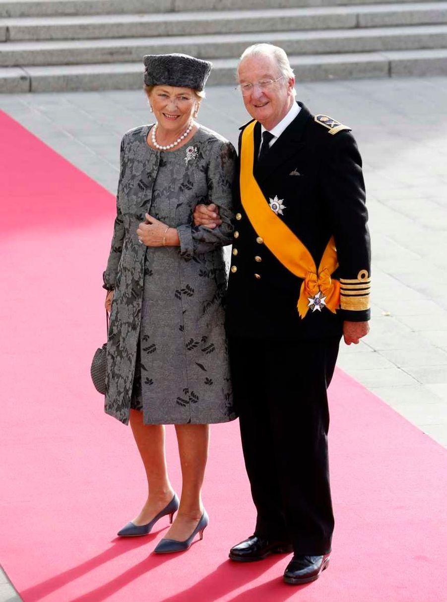 Le roi Albert de Belgique et la reine Paola