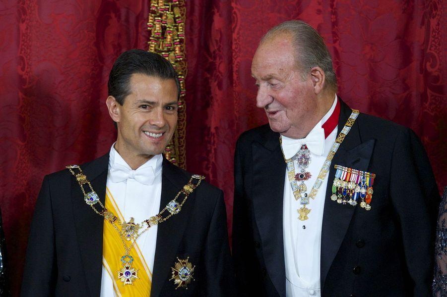 Dernière visite d'Etat sous Juan Carlos