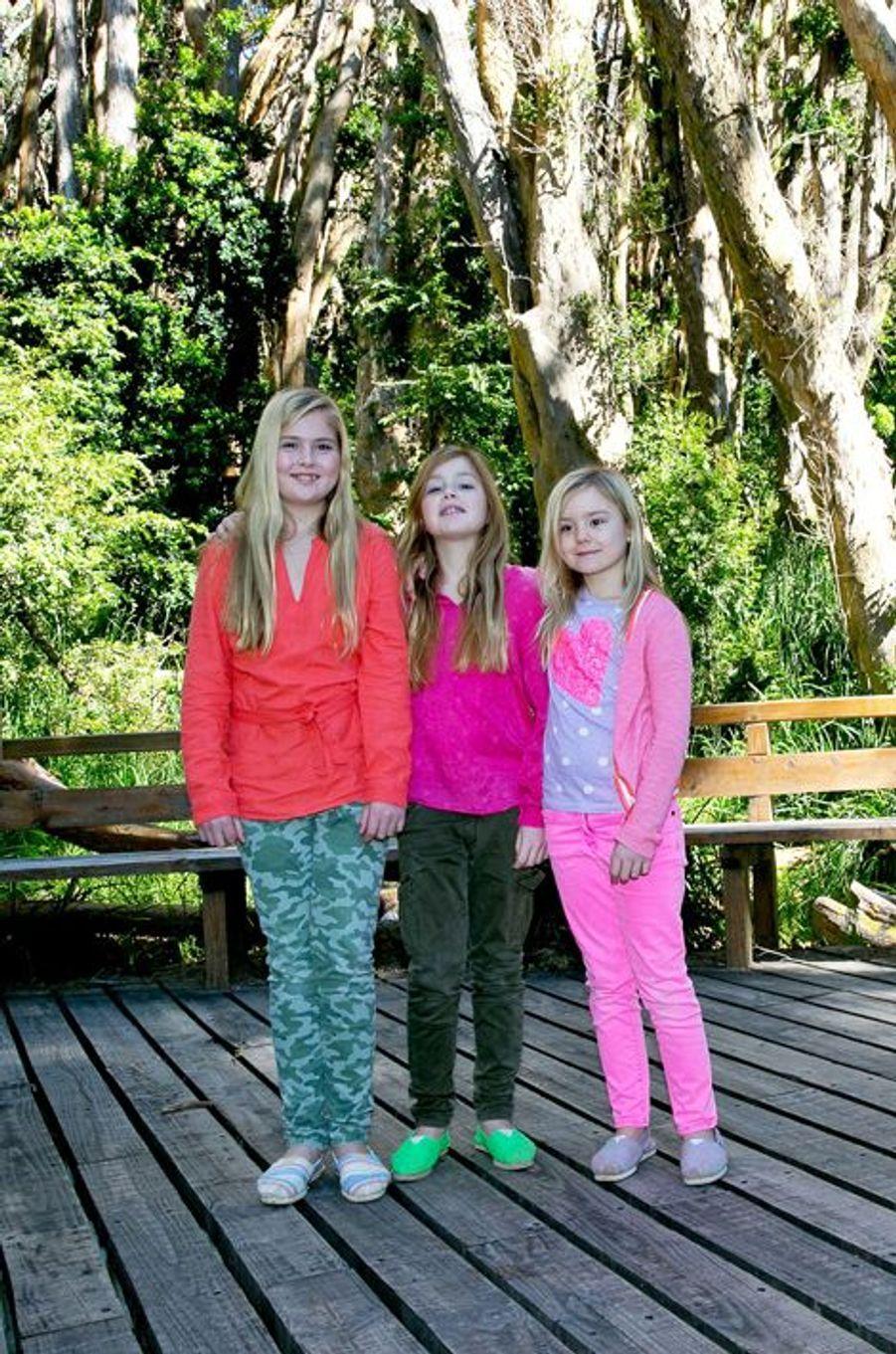 Les princesses Catharina-Amalia, Alexia et Ariane en Argentine, le 22 décembre 2014