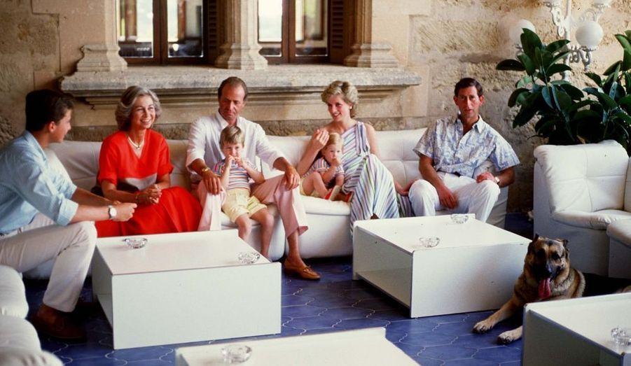 Août 1986, au Palais Marivent de Majorque