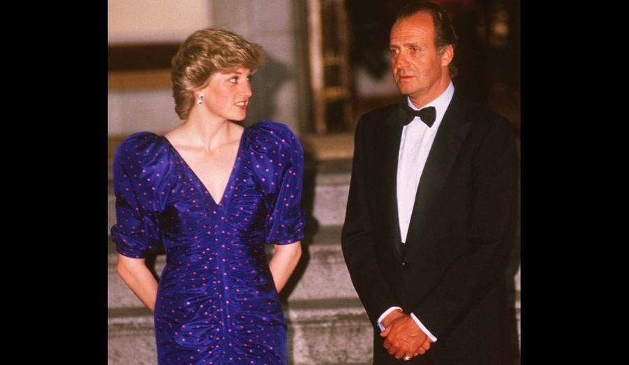 Avril 1987, visite officielle