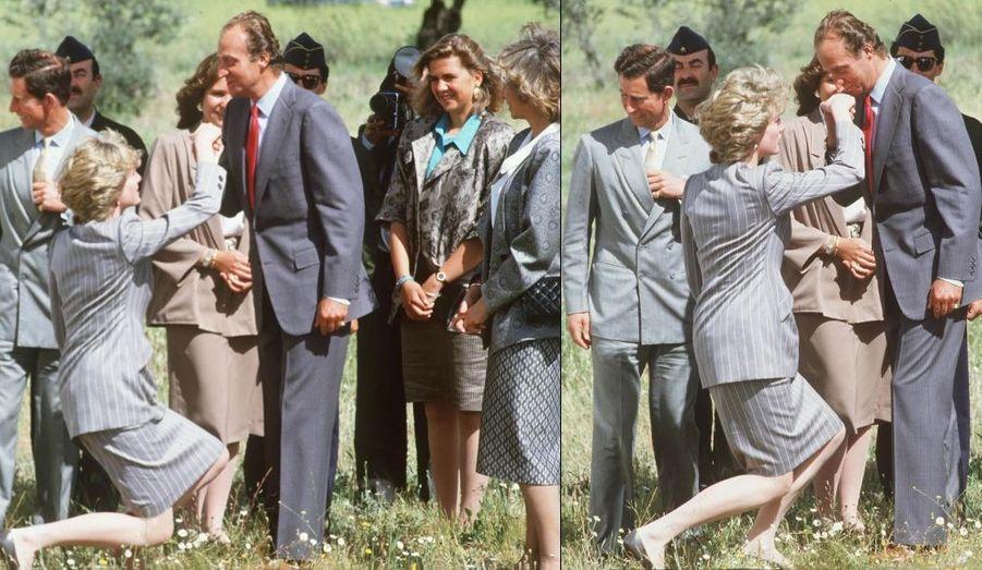 Baisemain (avril 1987)