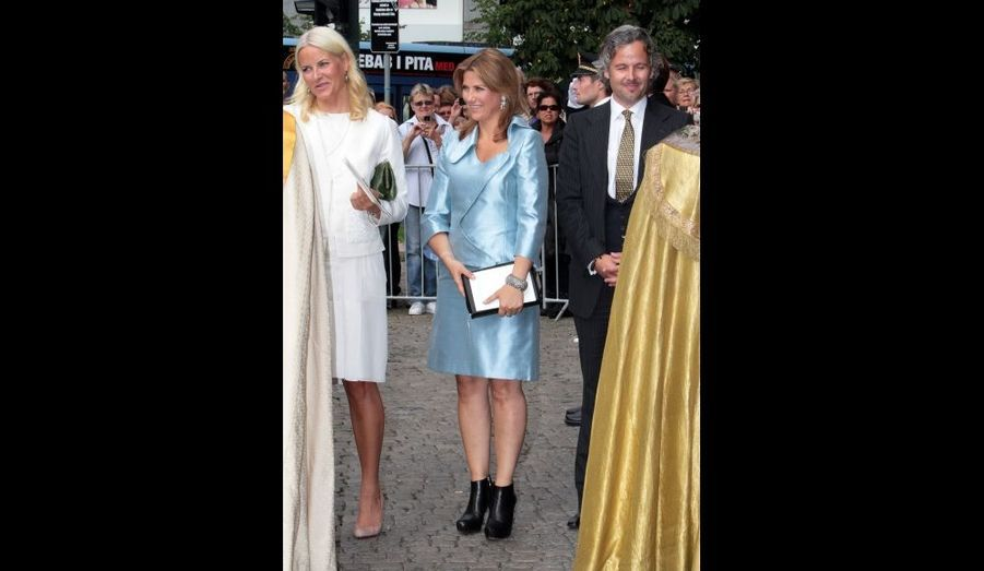la princesse Martha-Louise, la soeur d'Haakon