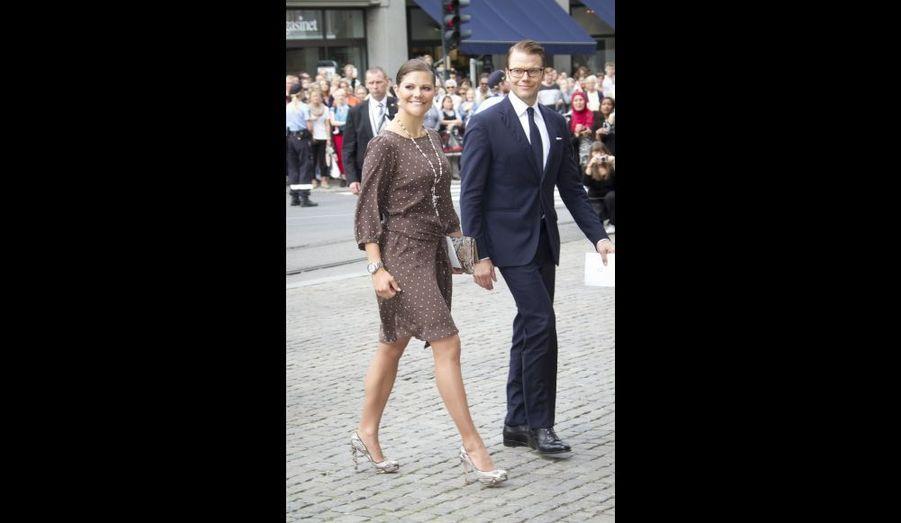 Victoria de Suède et le prince Daniel