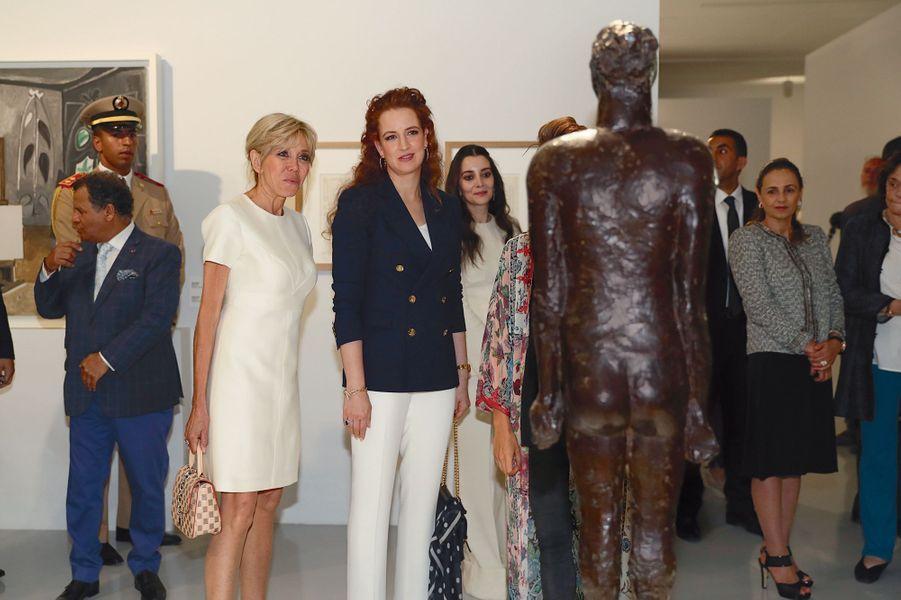115 oeuvres ont été prêtées par le musée Picasso de Paris. L'Institut français du Maroc a participé au financement.