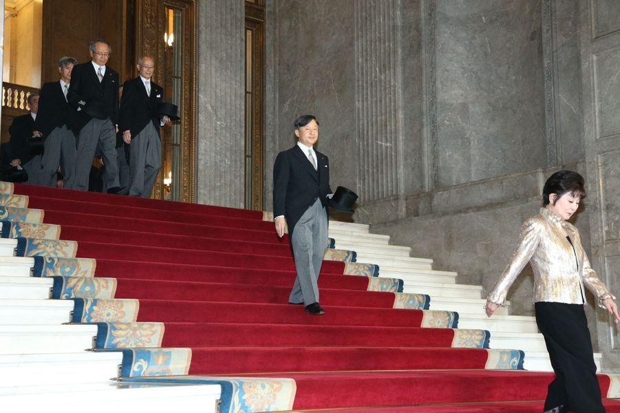 L'empereur Naruhito du Japon à Tokyo, le 1er août