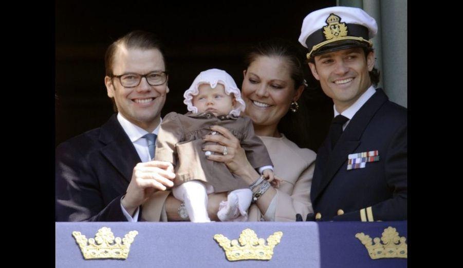 Avec son oncle Carl-Philip