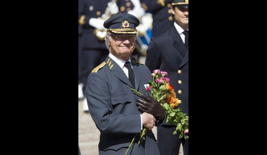 Carl Gustaf, fier et souriant pour son anniversaire